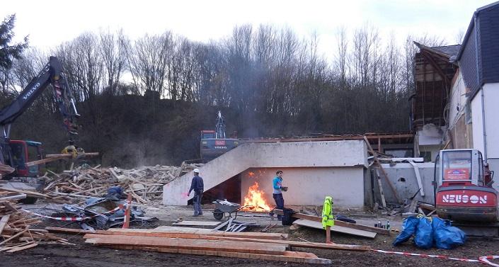 Abbrucharbeiten 19.02.2015