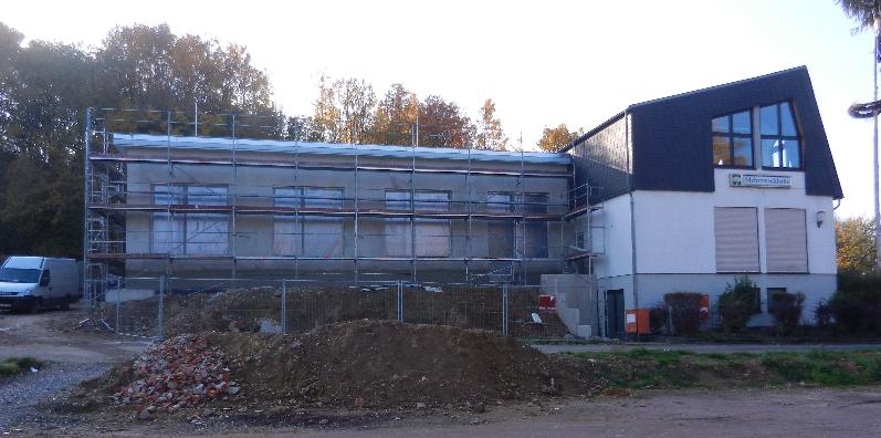 Bautenstand vom 27.10.2015