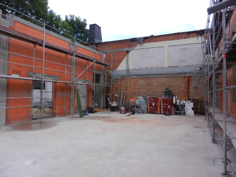 Baueinsatz vom 18.07.2015