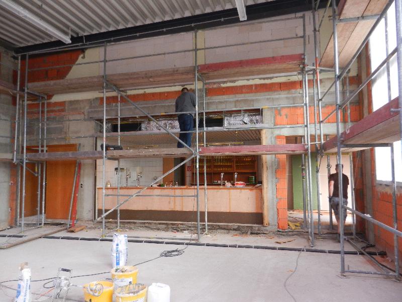 Baueinsatz vom 19.09.2015