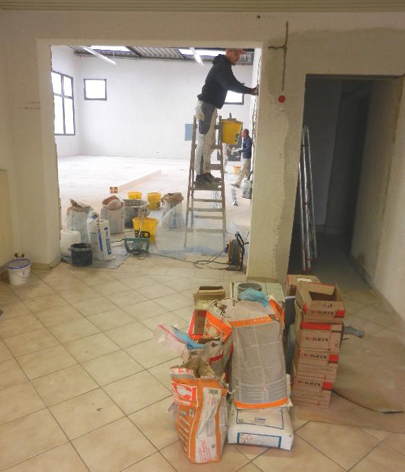Bautenstand vom 14.11.2015