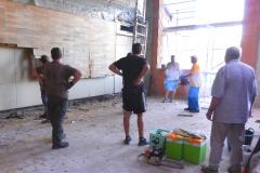 Baueinsatz vom 08.08.2015