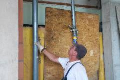 Baueinsatz vom 22.08.2015