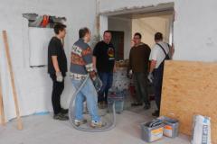 Baueinsatz vom 07.11.2015