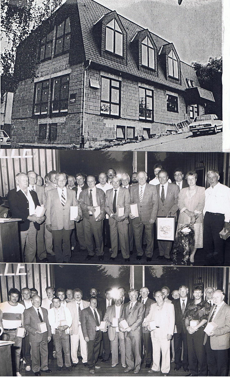 Anbau an die alte Halle 1975