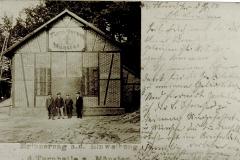 Erste Turnhalle am Scheid 1904